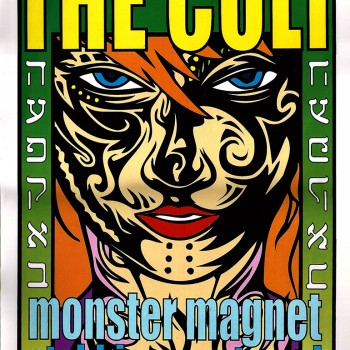The Cult Poster – Houston 29-07-2001