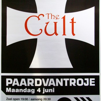 The Cult Gig Poster 04-06-2007