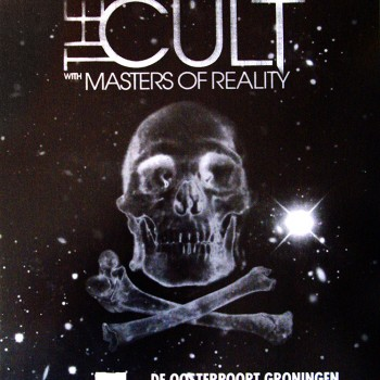 The Cult Gig Poster 03-02-2011