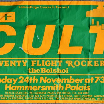 The Cult Poster – London 1985