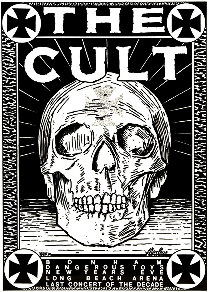 The Cult Poster 31-12-1989