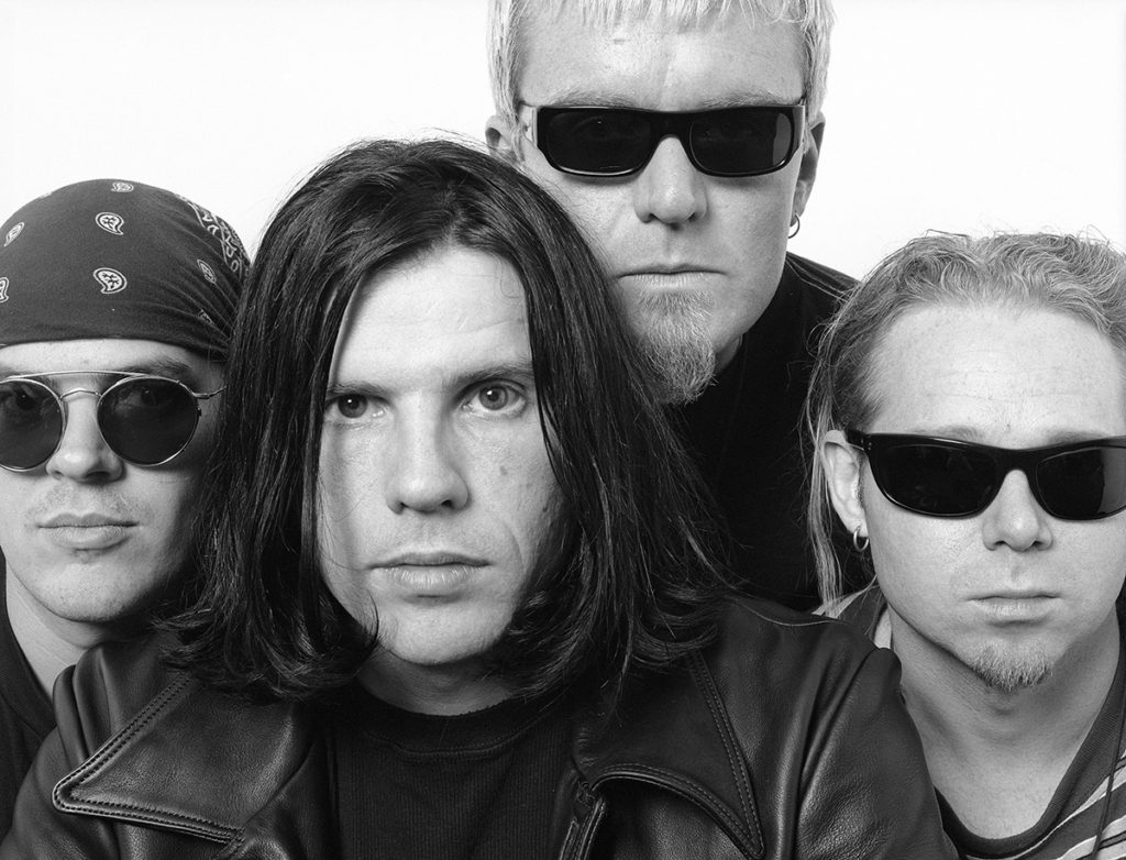 The Cult Press photo taken in Los Angeles in January 1993