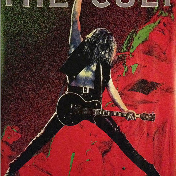 The Cult Australian 'Sonic Temple' Promo Poster