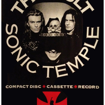 The Cult 'Sonic Temple' Promo Poster