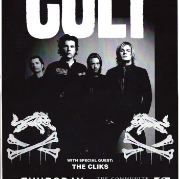 The Cult Poster – Ontario 10-04-2008