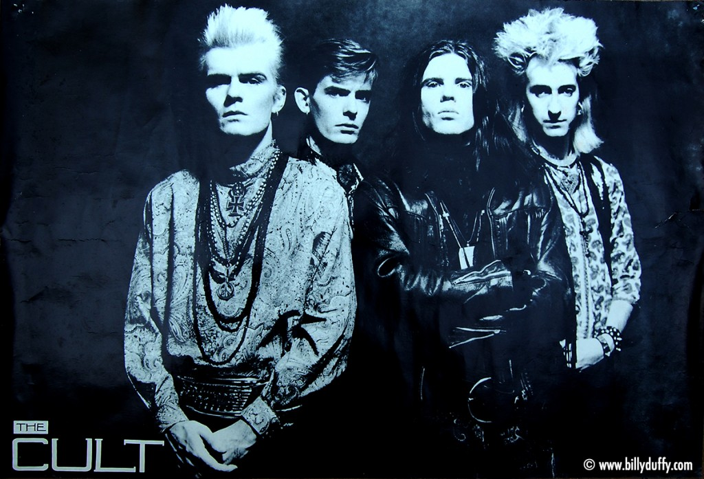 The Cult Band Poster - 1986
