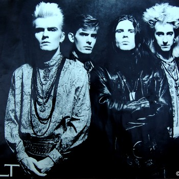 The Cult Band Poster – 1986