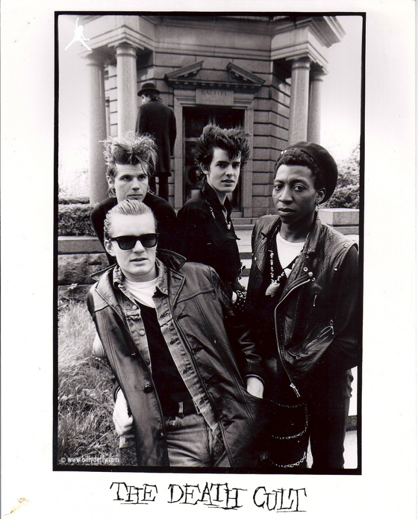 'The Death Cult' Press Photo featuring Billy Duffy