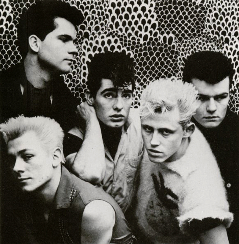Billy Duffy in a Theatre of Hate Press Photo - 1982