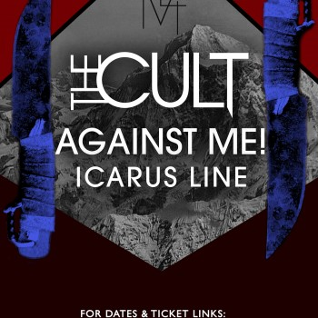 The Cult US Tour Poster – 2012