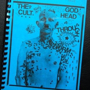 Billy's itinerary book from The Cult 'Love' Tour – 1985