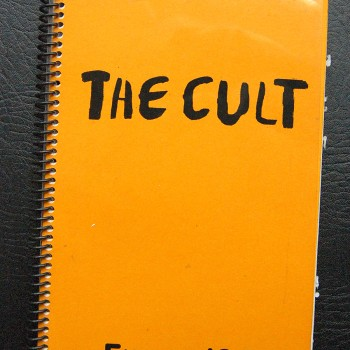Billy's itinerary book from The Cult European tour – 1994