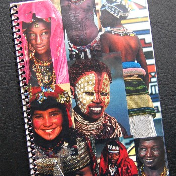 Billy's itinerary book from The Cult South African Tour – 2000