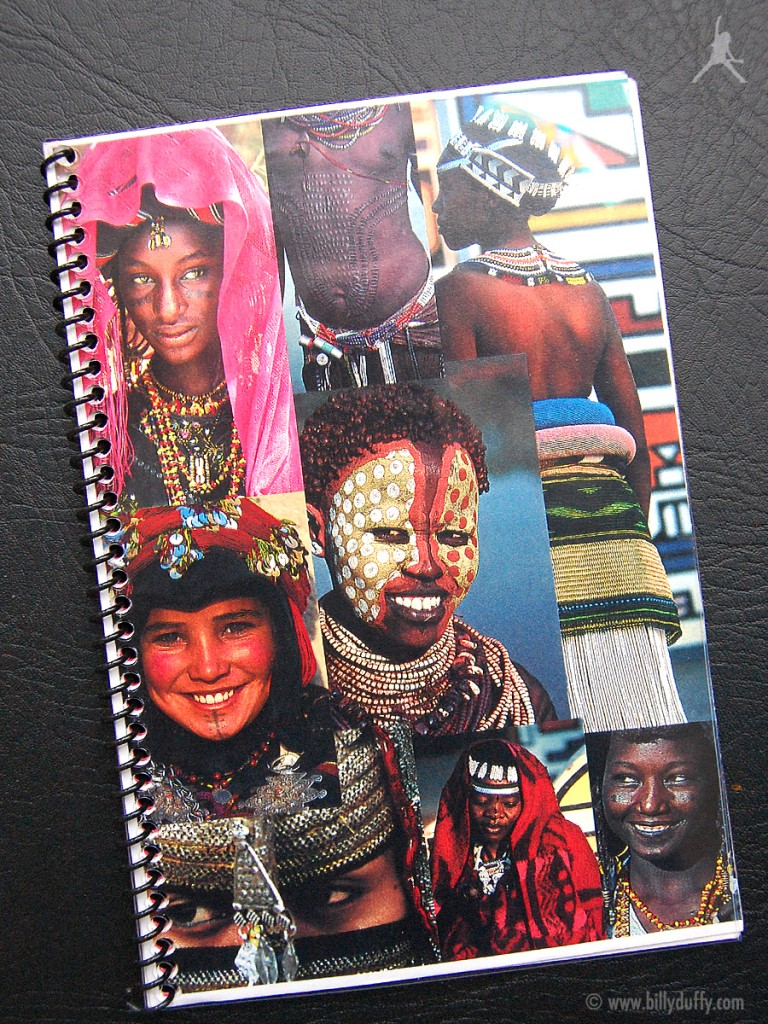Billy's itinerary book from The Cult South African Tour - 2000