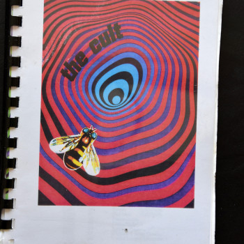 Billy's itinerary book from The Cult Tour – 1995