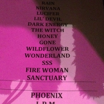 The Cult Set List 15-11-2015