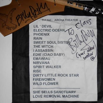 The Cult Set List 10-08-2010