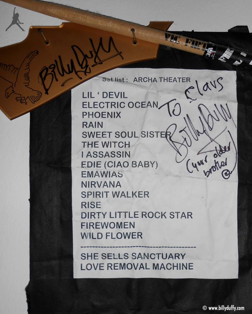 The Cult Set List 10-08-2010