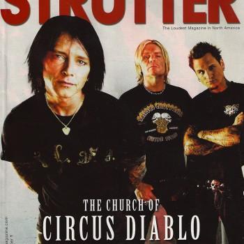 Circus Diablo Magazine Cover – 2007