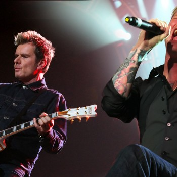 Billy and Corey at Marshall 50 Years of Loud – 2012