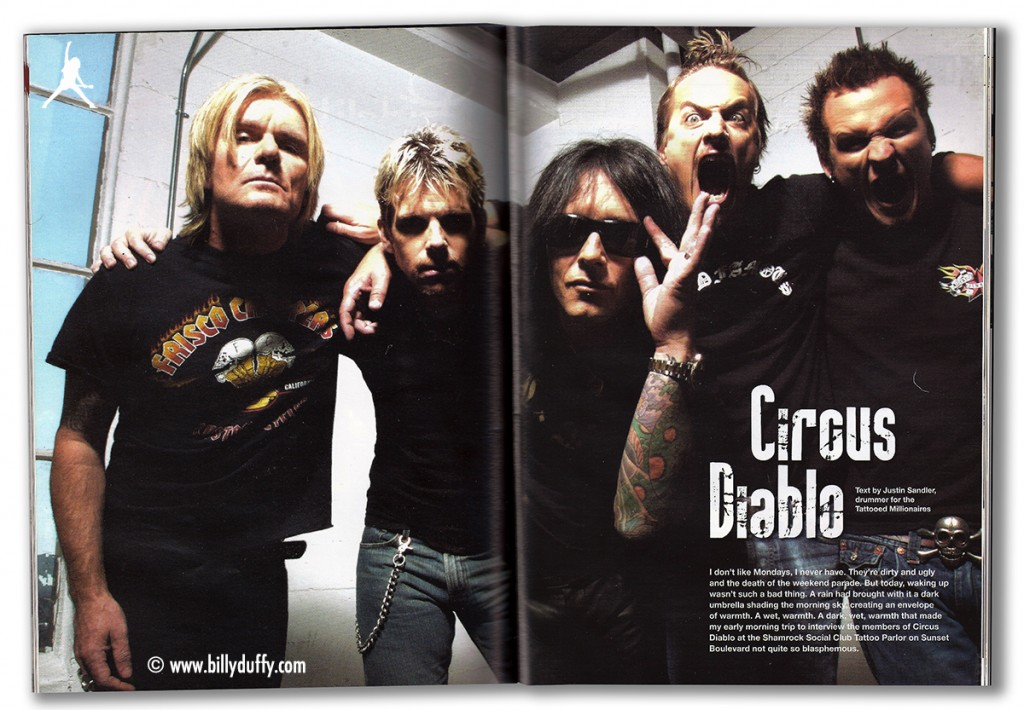 Circus Diablo magazine article - 2007