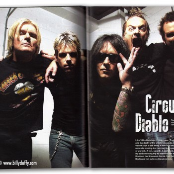 Circus Diablo magazine article – 2007