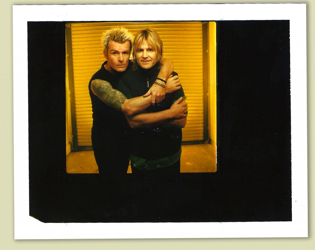 Billy and Mike Peters