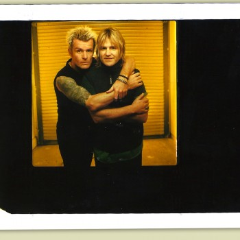 Billy and Mike Peters -1999
