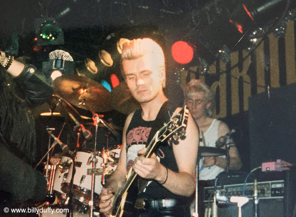 Billy Duffy guesting with Balaam and the Angel - 1995