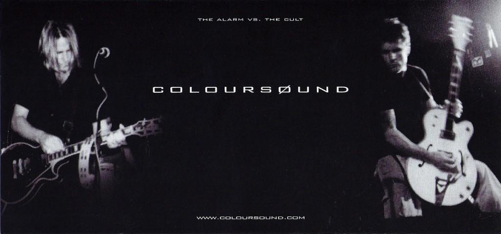 Coloursound Flyer for UK Tour - 1998