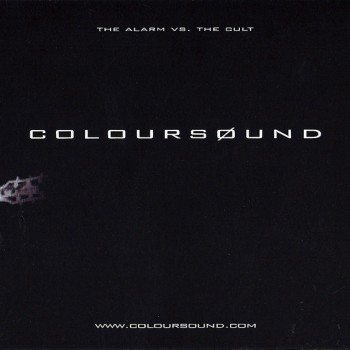 Coloursound Flyer for UK Tour – 1998