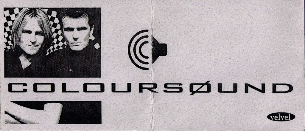 Coloursound Launch Party Invite - 1998