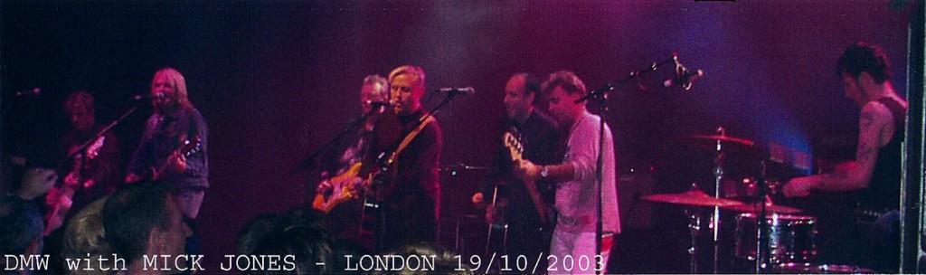 Dead Men Walking with Mick Jones - 2003