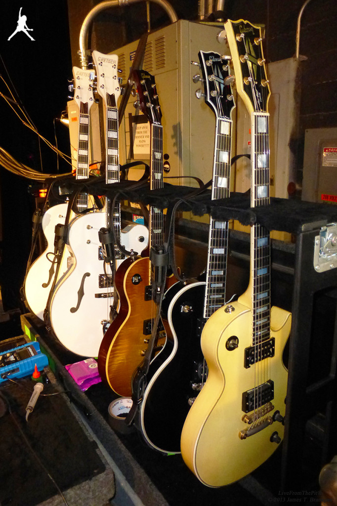 Billy's 'Electric 13' Guitars