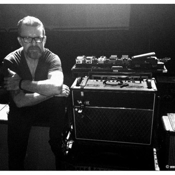 Billy with his brand new Vox AC30 amp