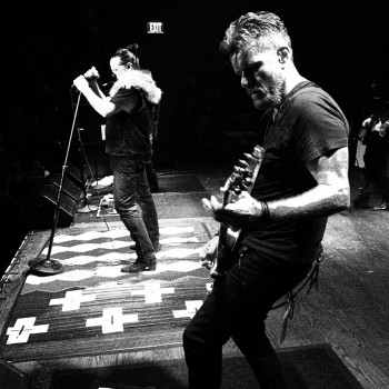 Billy and Ian in Anahiem – 'Electric 13' Tour