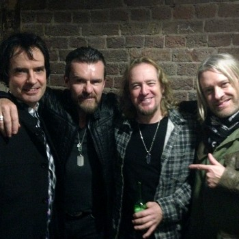Hanging Backstage at The Roundhouse
