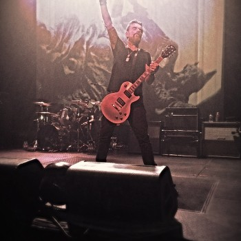 Billy does the Rock Horns in Austin!