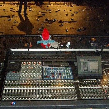 The Cult 'Electric 13' Mixing Desk
