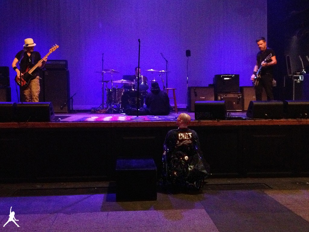 Soundcheck in San Diego