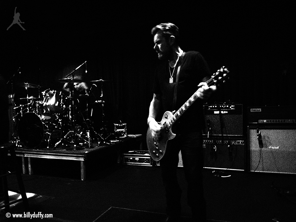 Billy Duffy at The Cult Electric 13 rehearsal session