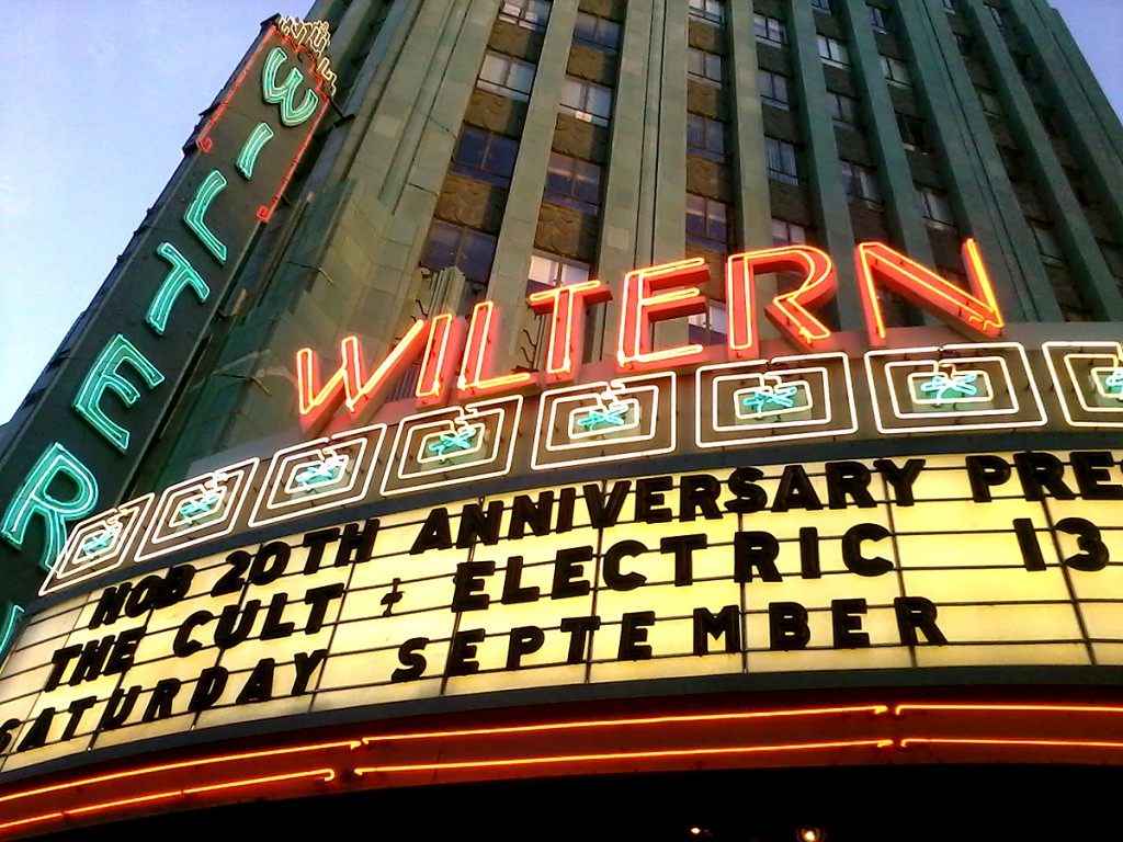 The Cult at The Wiltern - 'Electric 13'