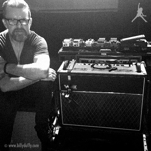 Billy and his Vox AC-30 Amplifier