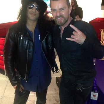 Billy Duffy & Slash
