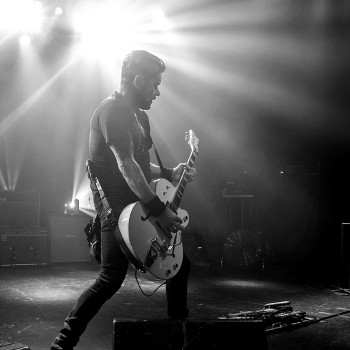 Billy Duffy live with The Cult 2014
