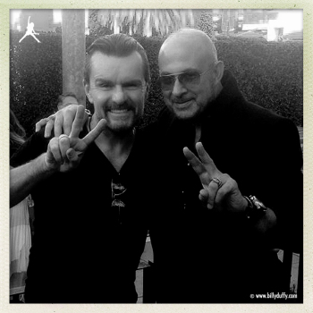 #PEACEROCKS event - Billy Duffy with John Varvatos