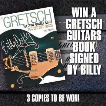 Win a Gretsch Guitars Book signed by Billy Duffy