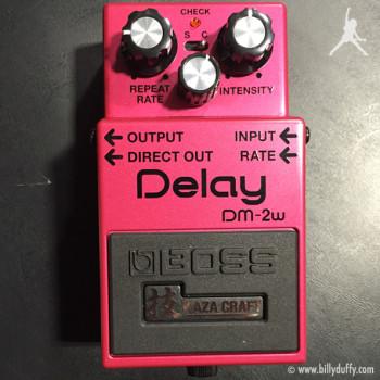 Billy Duffy's BOSS DM-2W Pedal