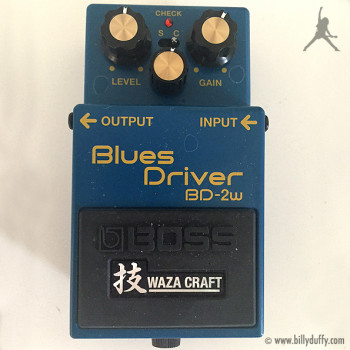 Billy Duffy's Boss Blues Driver BD-2W Pedal
