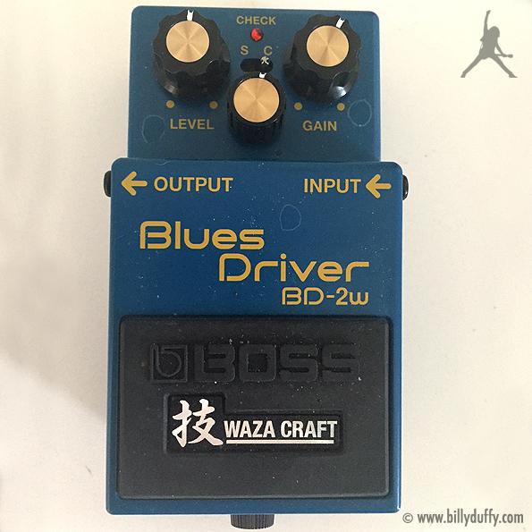 Billy Duffy's Boss Blues Driver BD-2W Pedal